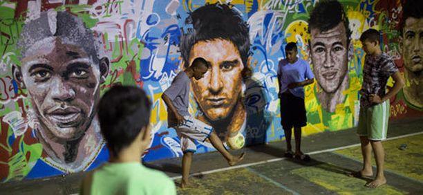 Riossa on hienoja graffiteja ja karmeat hinnat.