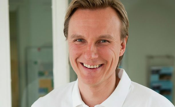 Entinen maalitykki Jarkko Varvio on nykyään myyntitykki ja toimitusjohtaja.