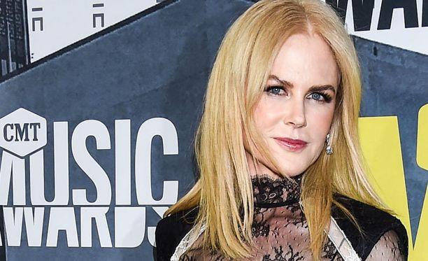 Nicole Kidman näytteli rankan roolin.
