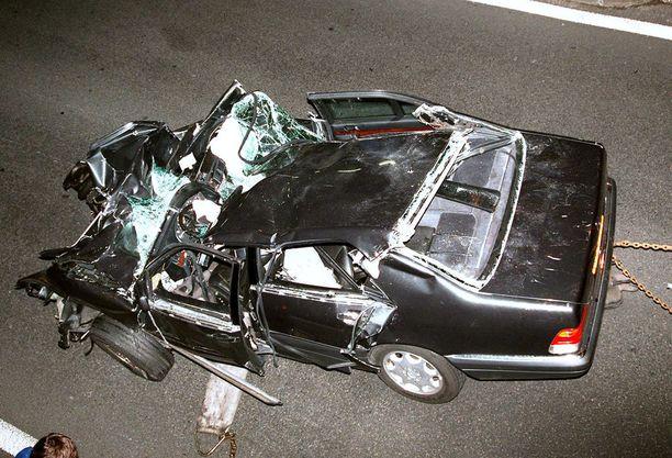 Dianan elämä päättyi Pariisissa 31.8.1997.