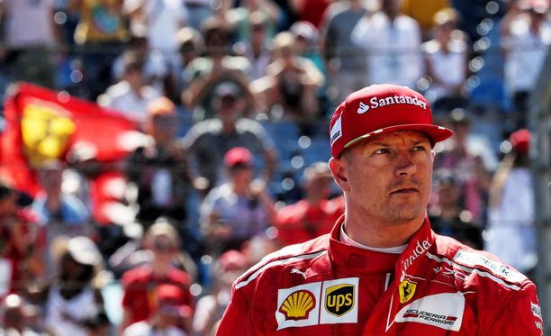 Sky Italian mukaan Kimi Räikkönen on ensi kaudellakin Ferrarin mies.