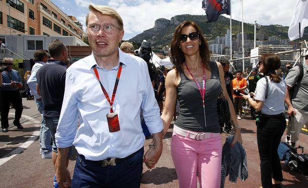 Mika ja Marketa ovat tuttu näky Monacon formulakisoissa.