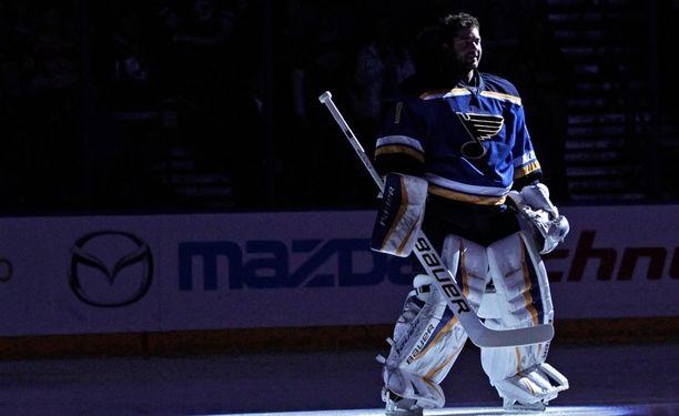 Brian Elliott pääsi varapaikalta NHL:N tähdistöotteluun.