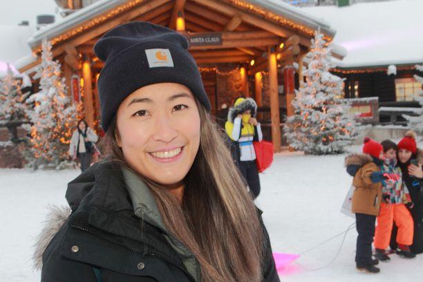 Karyne Lin mielestä Rovaniemellä on suorastaan maagista. Matka Lappiin tarjosi hänelle ennakko-oletuksia parempia elämyksiä.