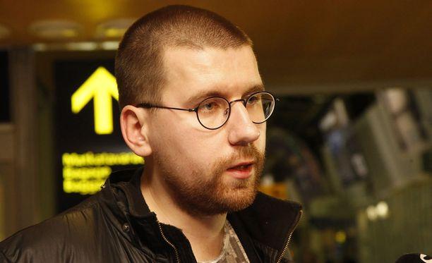 Sebastian Tynkkynen sai sakkotuomion Facebook-kirjoittelustaan. Arkistokuva.