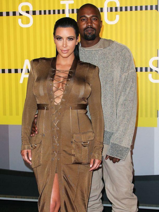 Kimin ja Kanyen liiton on huhuttu olevan kriisissä, mutta
