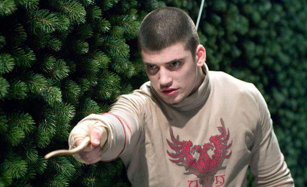 Vuonna 1985 syntyneellä Yanevskillä oli elokuvan kuvausten aikaan vielä poikamaiset piirteet.