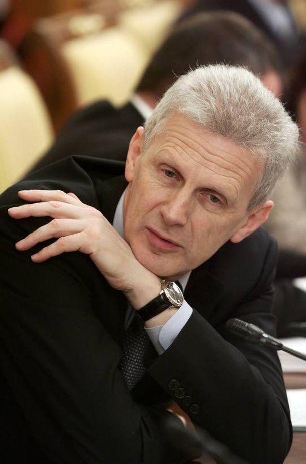 Andrei Fursenko tutustui Putiniin 1990-luvulla Pietarissa.