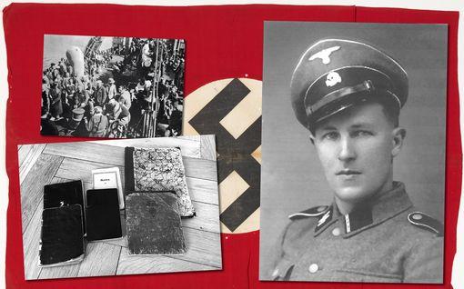 Jorma, 22, sai kiitoskortin Hitleriltä
