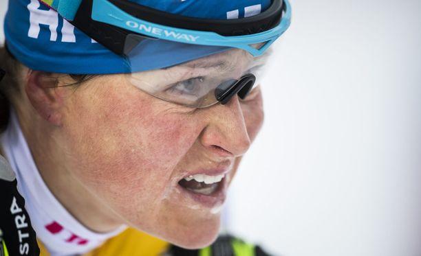 Aino-Kaisa Saarisen hiihto ei kulje.