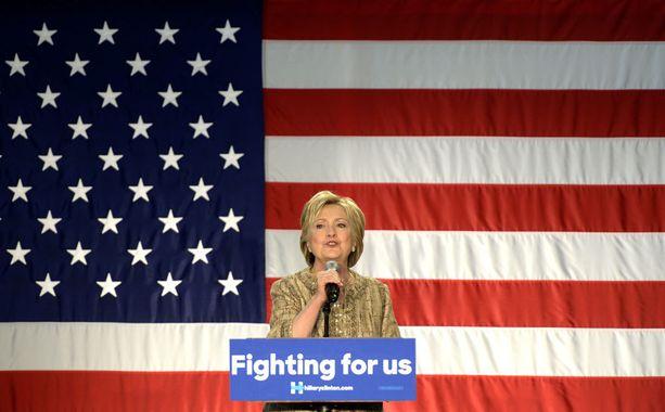 Hillary Clinton vie presidenttiehdokkuuden, jos ihmettä ei tapahdu.