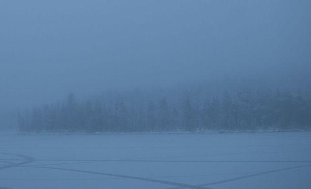 Inarin Ukonjärven rauha ei rikkunut meteorista.