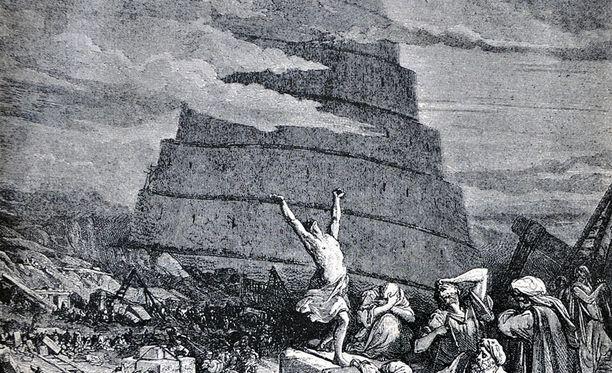 Raamatullisessa kertomuksessa eri kielet syntyivät, kun Jumala särki Baabelin tornin.