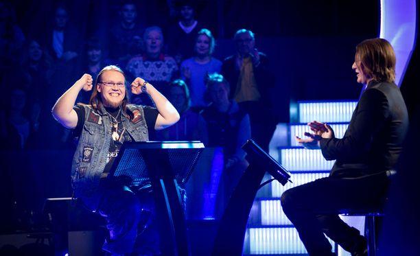 Lauantain jaksossa kilpaili muun muassa Simo Rantanen Tampereelta.