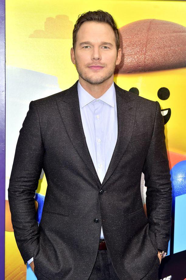 Chris Pratt on suosittu jenkkinäyttelijä.