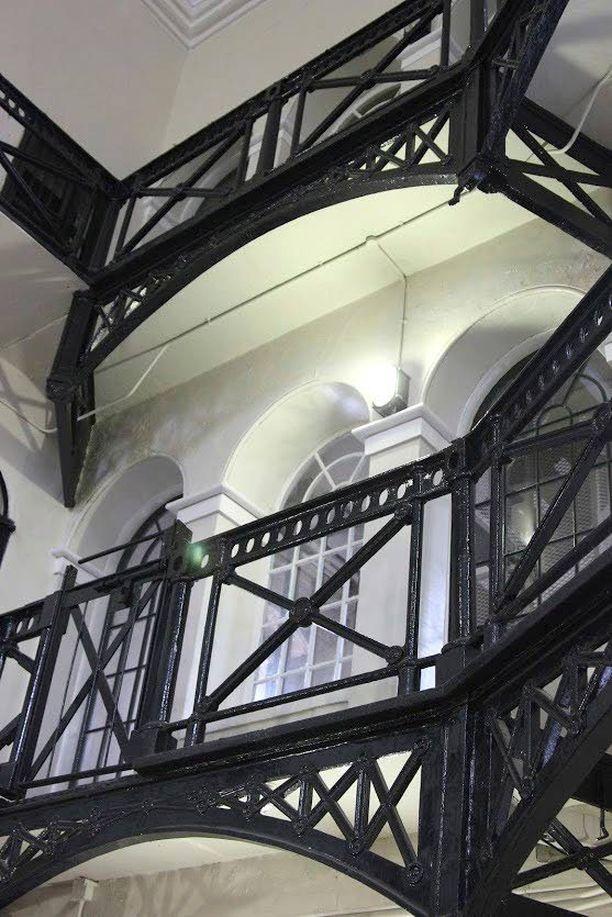 Crumlin Road Gaol -vankilassa järjestetään päivittäin kiinnostavia kierroksia.