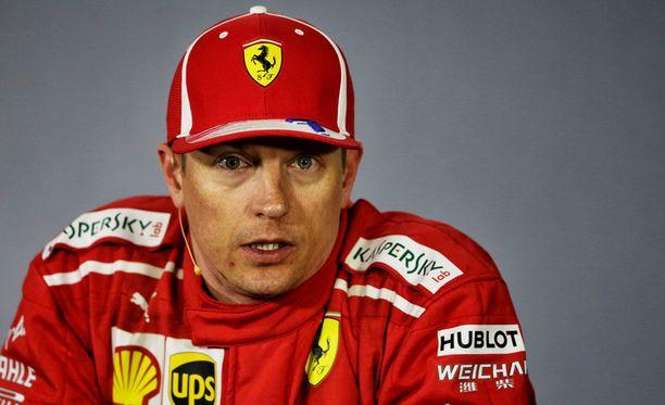 Kimi Räikkönen sijoittui Kiinan GP:ssä kolmanneksi sunnuntaina.