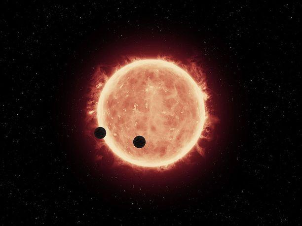 Punaiset kääpiöt ovat pienempiä ja kylmempiä kuin Aurinko.