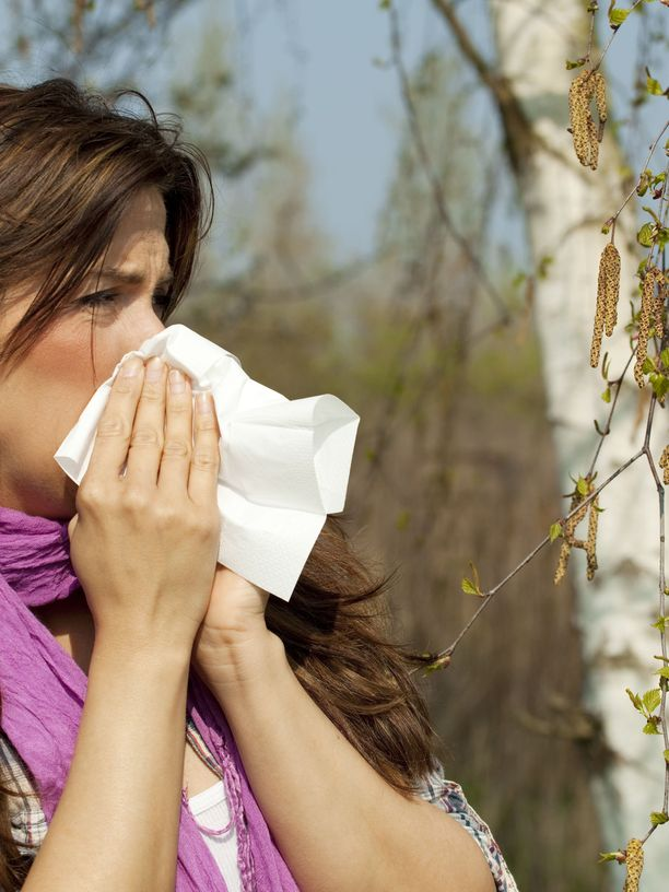 Kevät ei ole allergiselle välttämättä joka hetki ihanaa aikaa.