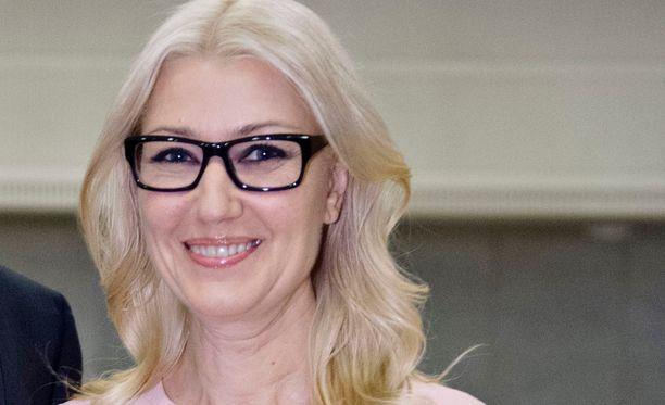 Maria Guzenina on ehtinyt ennen kansanedustajan uraansa toimia myös Music Televisionin juontajana.