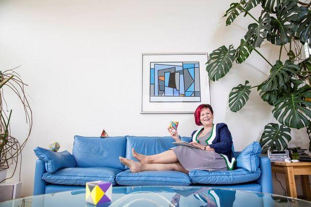 Arkistokuva vuodelta 2013. Maarit Rossi edusti tänään sunnuntaina Suomea Global Teacher Prize -palkintogaalassa.
