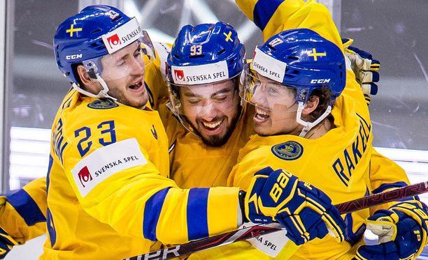 Ruotsi on kulkenut voitosta voittoon MM-kisoissa.