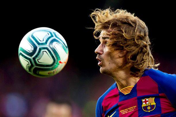 Antoine Griezmann pelaa tänään ensimmäisen tosipelinsä Barcelonan paidassa.