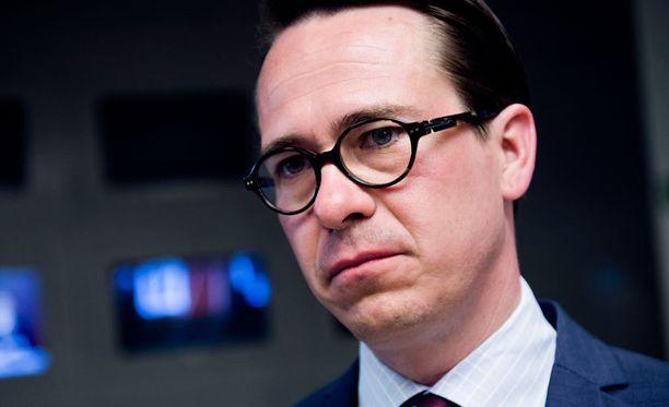 Puolustusministeri Carl Haglund ei korjannut vaalitentissä liikkuneita virheellisiä Hornet-tietoja.