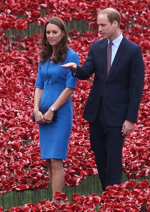 Catherine ja William edustivat yhdessä elokuussa.