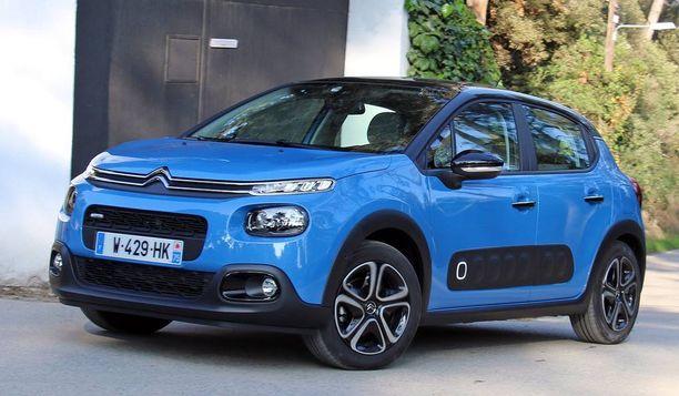 Citroën C3:n uusi keulan ilme on edeltäjää jyhkeämpi ja maasturimaisempi.