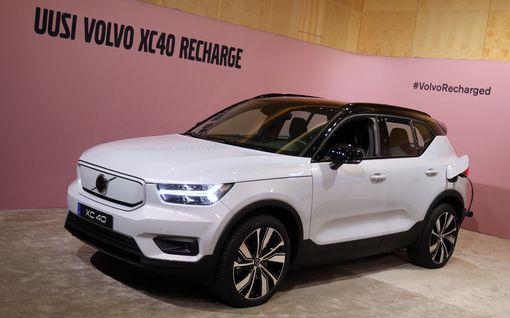 Volvo luopuu pelkällä bensalla tai dieselillä kulkevista autoista viiden vuoden sisällä
