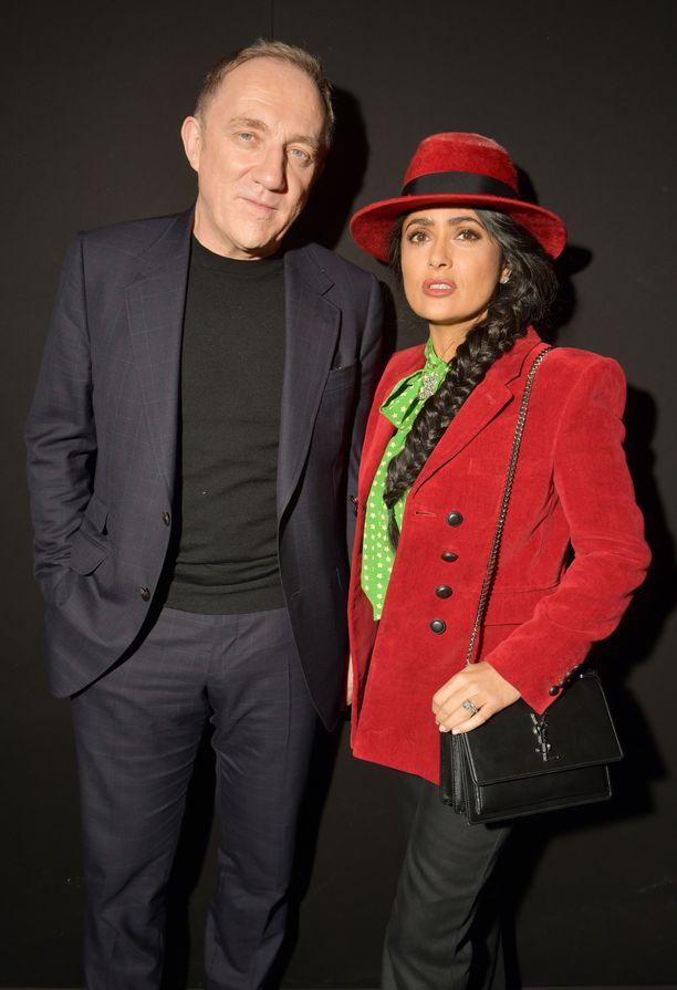 Francois-Henri Pinault ja Hollywood-näyttelijä Salma Hayek ovat olleet yhdessä vuodesta 2006.