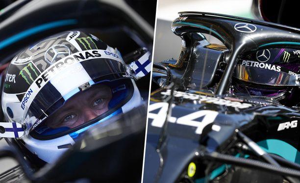 Mercedes ajoi kaksoisvoittoon.