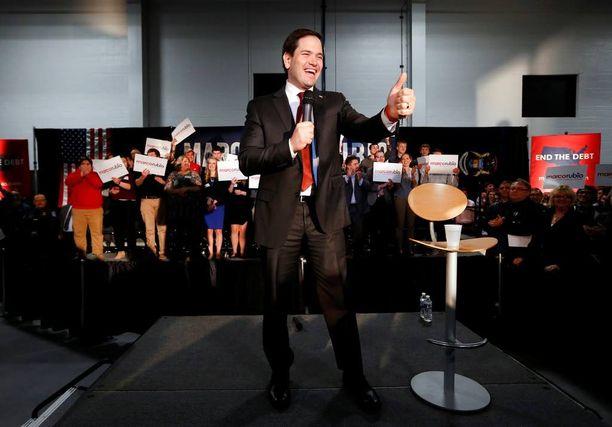 Marco Rubion mielestä hän on paras kandidaatti voittamaan USA:n presidentinvaalit.