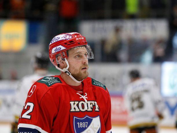 HIFK:ssa hyvän kauden pelannut Juhani Tyrväinen liittyy Leijonien MM-leiriryhmään.