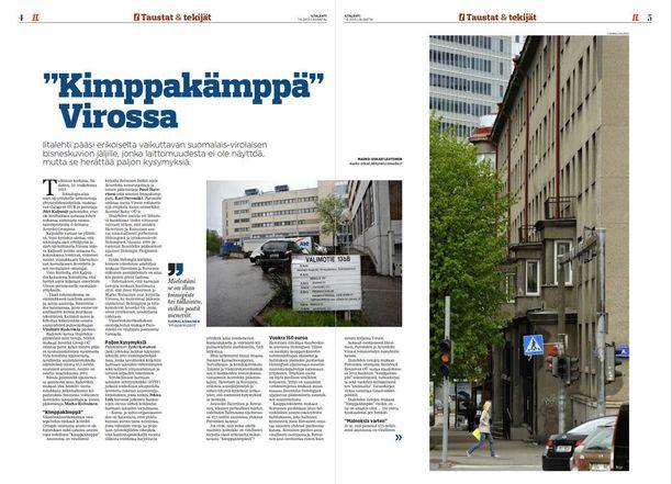Iltalehden haastattelema harmaata taloutta tutkinut asiantuntija oli vuonna 2013 ehdottomasti sitä mieltä, että verottajan pitäisi selvittää Haverisen ja Roivaisen tosiasiallinen asuinpaikka ja verotusasema Suomessa.