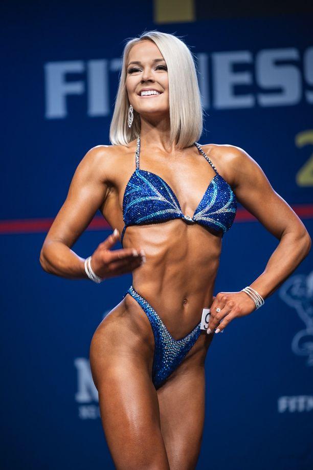 Pauliina Mäki lunasti paikan yleisen sarjan finaalikuusikosta pituusluokkansa yleisessä sarjassa.