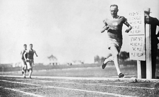 Paavo Nurmi voitti urallaan yhdeksän olympiakultaa.