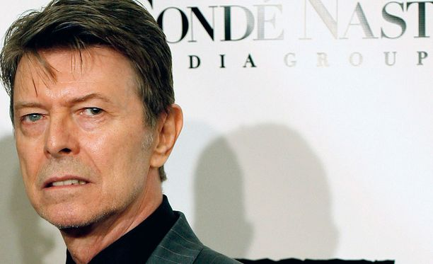 Myös David Bowien silmät olivat eriväriset.