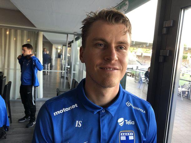 Rasmus Schüller siirtyy syksyllä Santahaminaan.