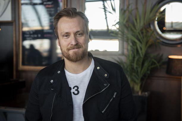Juontaja Heikki Paasosen ura on kestänyt jo lähes 20 vuotta.