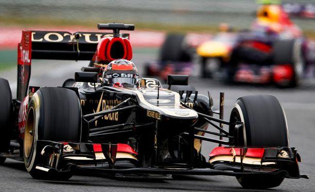 Kimi Räikkösen Lotus-tallilla on jo ollut talousvaikeuksia.