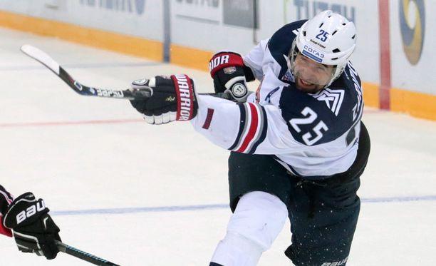 Danis Zaripov pelasi Metallurgissa neljän kauden ajan.