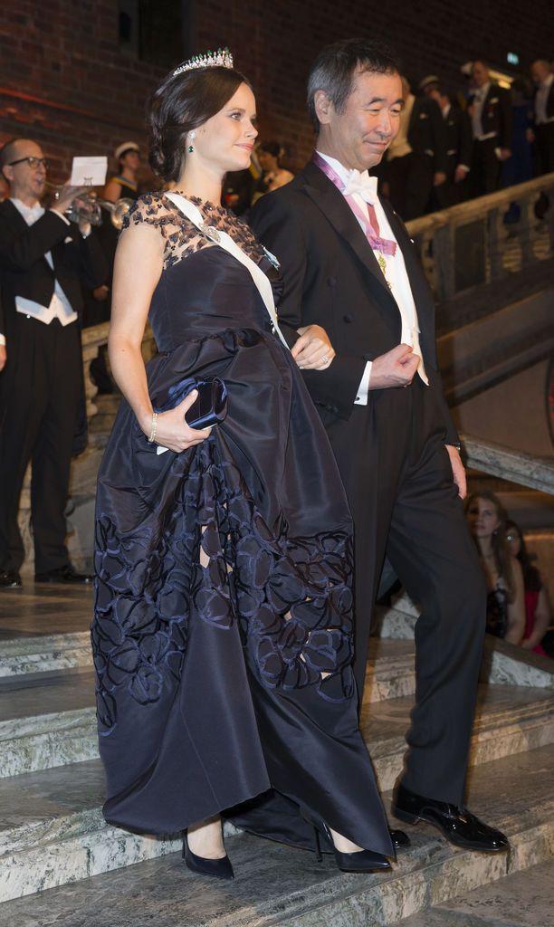 Prinsessa Sofia odotti prinssi Alexanderia vuonna 2015.
