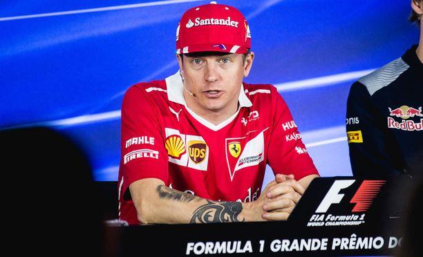 Kimi Räikkönen ei ole enää yhtä arvostettu kuljettaja kuin parhaina päivinään.