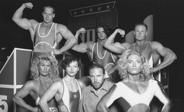 Gladiaattorit oli 90-luvun alun suurimpia tv-ilmiöitä.