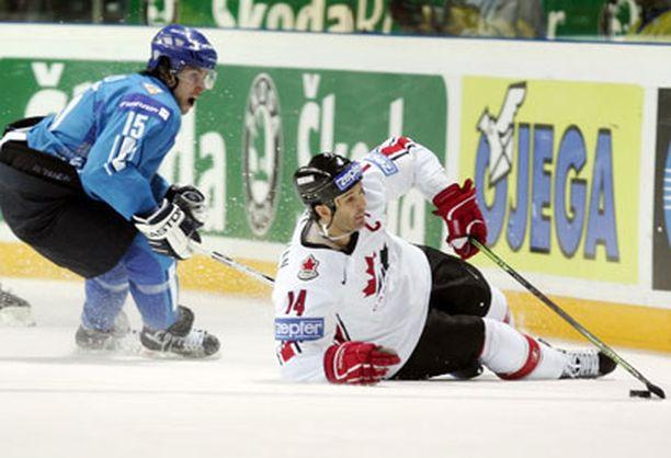 Brendan Shananan ja Kanada jäivät Suomen ja Tuomo Ruudun jyrän alle.