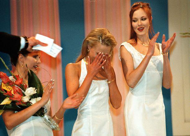 Miss Suomi 1999 Vanessa Forsmanin kyyneleet