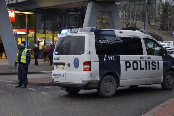 Onnettomuus tapahtui lähellä Siilitien metroasemaa.