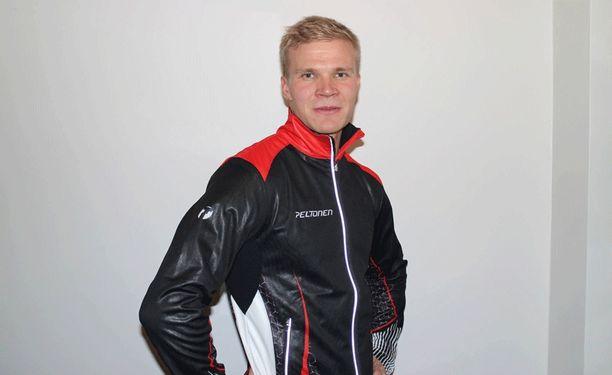 Antti Lampinen edustaa Mikkelin Hiihtäjiä ja Team Peltosta.